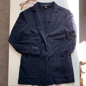BANANA REPUBLIC blazer with stretch navy blue XS